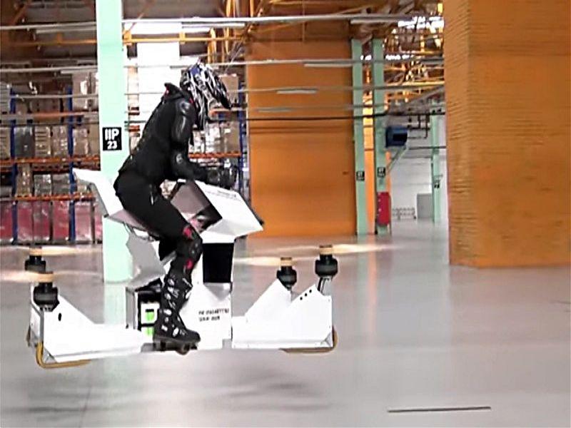 Scorpion-3, prueba de vuelo