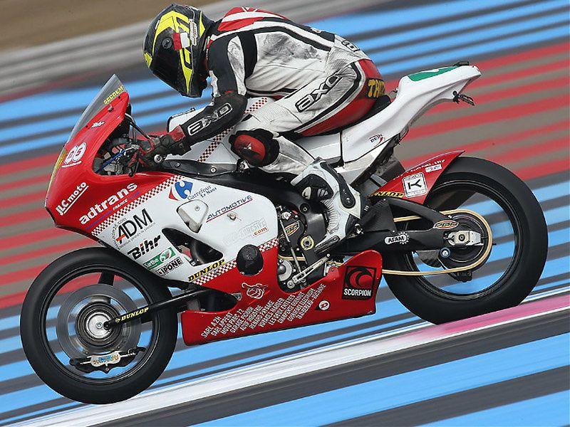 Metiss JLC Moto Honda en acción