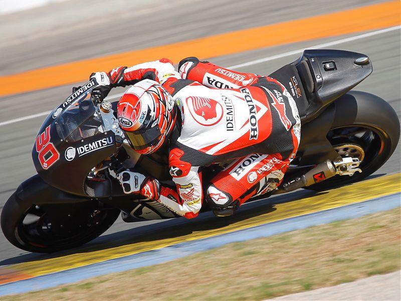 Takaaki Nakagami ha sido el dominador de los test de Valencia en la categoría de Moto2