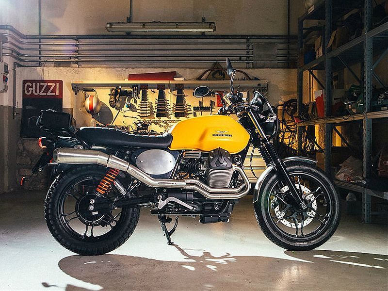Equipa tu Moto Guzzi V7 o V7 II con las promociones del Grupo Piaggio