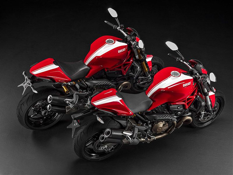Ducati Monster 821/1200 S Stripe (2016)