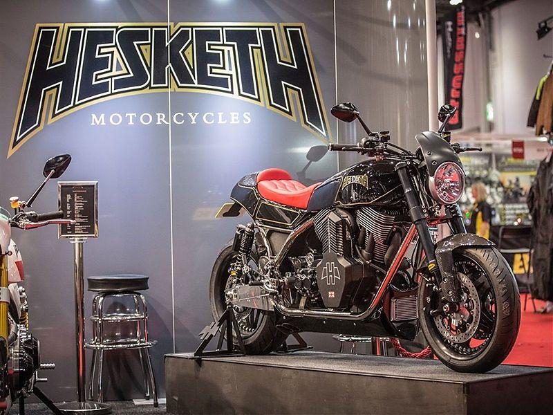 Hesketh Valiant, moto cien por cien británica