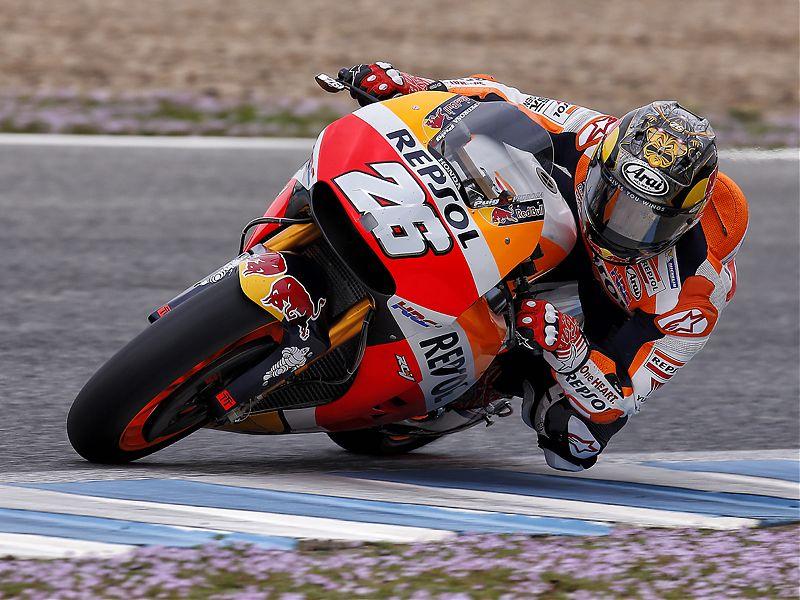 Dani Pedrosa ha completado una jornada de test privados en Jerez