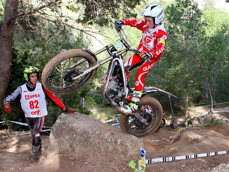 Alex Canales, vencedor de Cadete.
