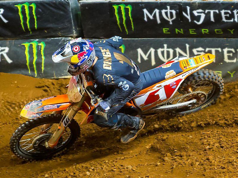 Ryan Dungey, vencedor en Atlanta.