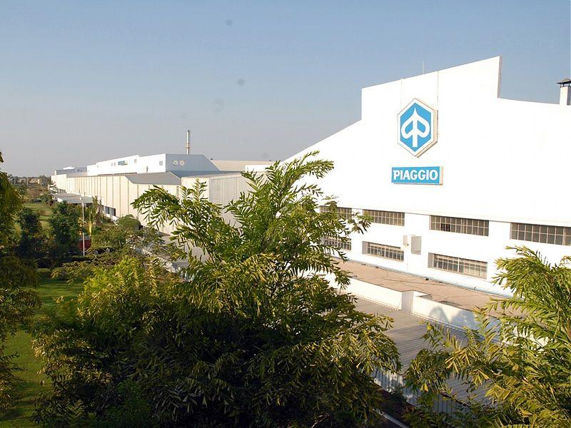 Factoria de Piaggio en India