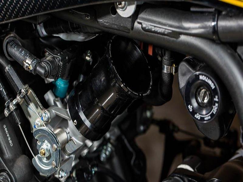 The Corsa Scorcher, amortiguador regulable