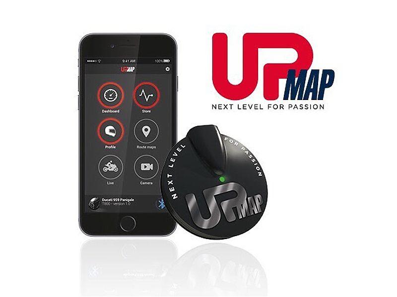 Nuevo UpMap de Andreani MHS, ter permitirá controlar el motor de tu moto desde el móvil