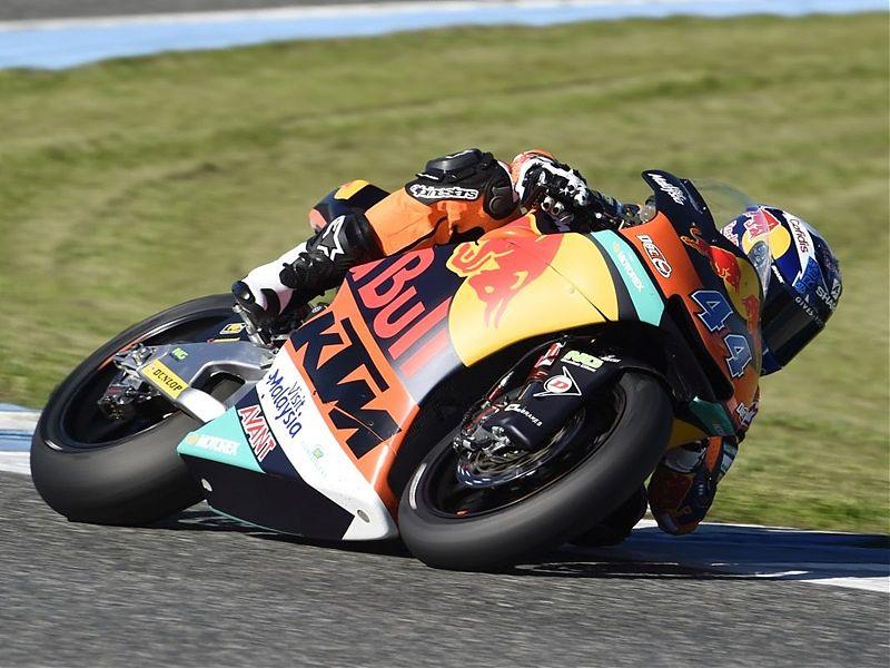 Miguel Oliveira domina el primer día de test en Jerez