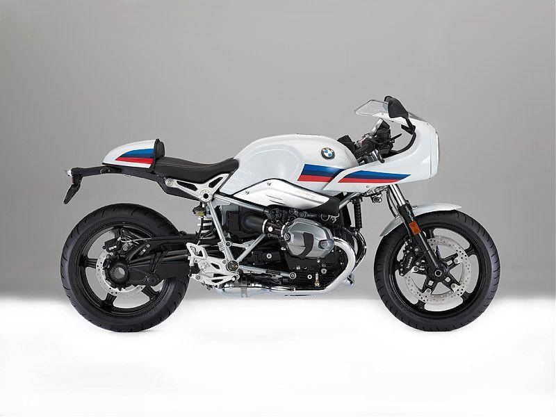 Vista lateral derecha de la BMW R nineT Racer