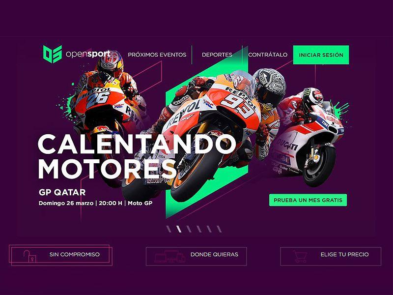 Opensport la nueva revolución para ver MotoGP por sólo 9,99 euros