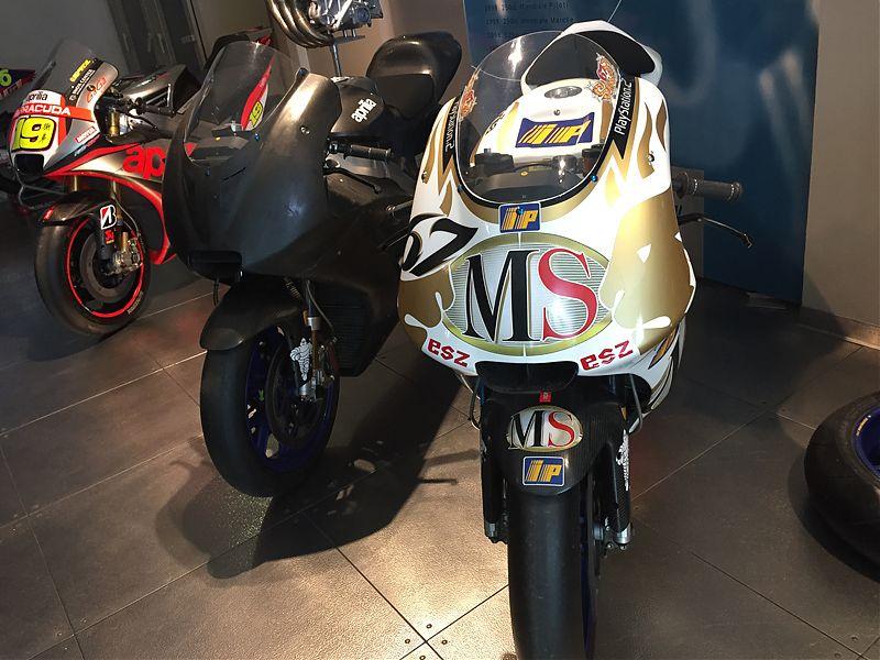 Pasado y presente de Aprilia en MotoGP