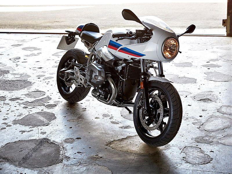 La silueta de la BMW R nineT Racer es inconfundible