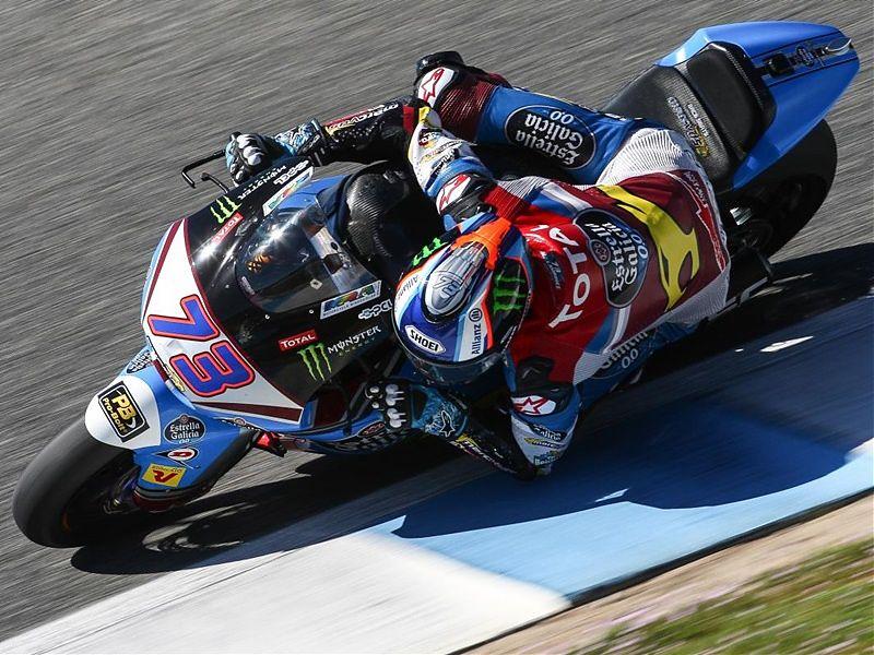 Álex Márquez a ritmo de pole en los test