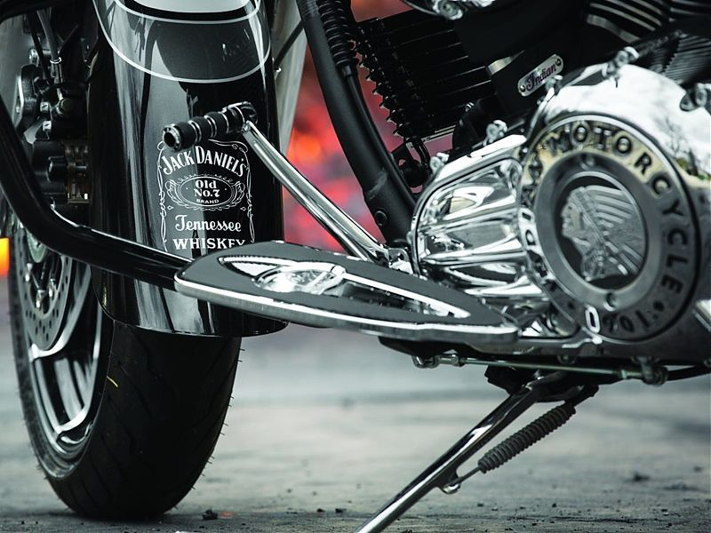 Indian Chieftain Jack Daniel's Limited Edition, guardabarros