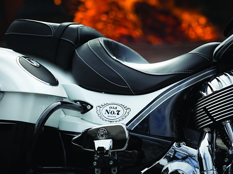 Indian Chieftain Jack Daniel's Limited Edition, asiento