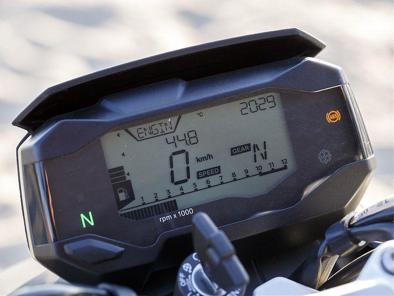Instrumentación LCD de la BMW G310R