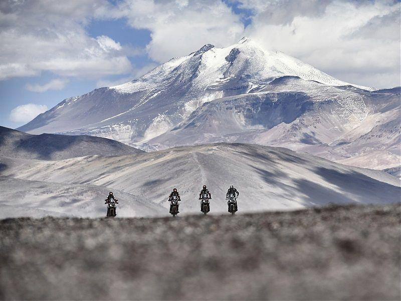 La Africa Twin, la bicilíndrica que ha llegado a más altura