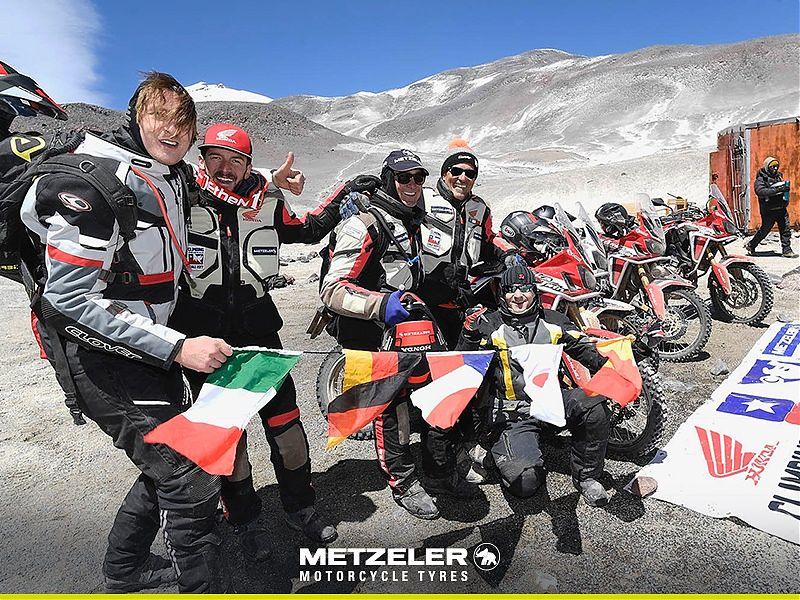 Metzeler consigue tres récords en moto