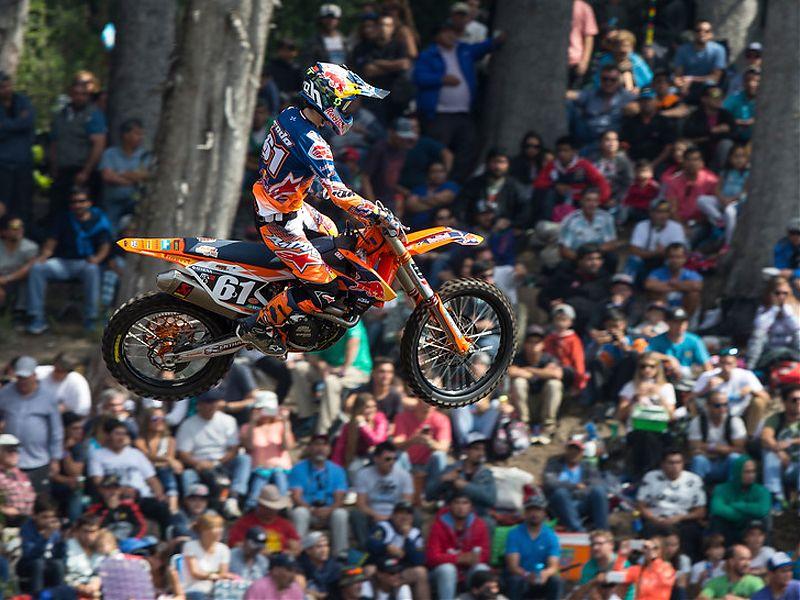 Jorge Prado, segundo en el GP Argentina MX2.