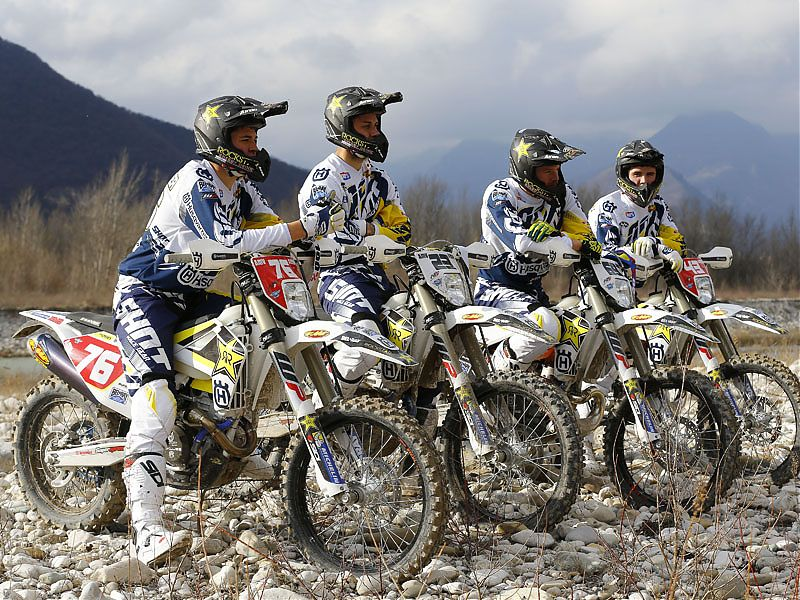 Husqvarna Enduro Team 2017.