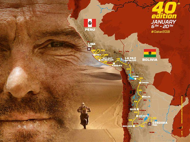 El Dakar 2018 cambia de recorrido.