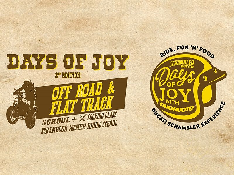 Days of Joy 2017 por Ducati Scrambler
