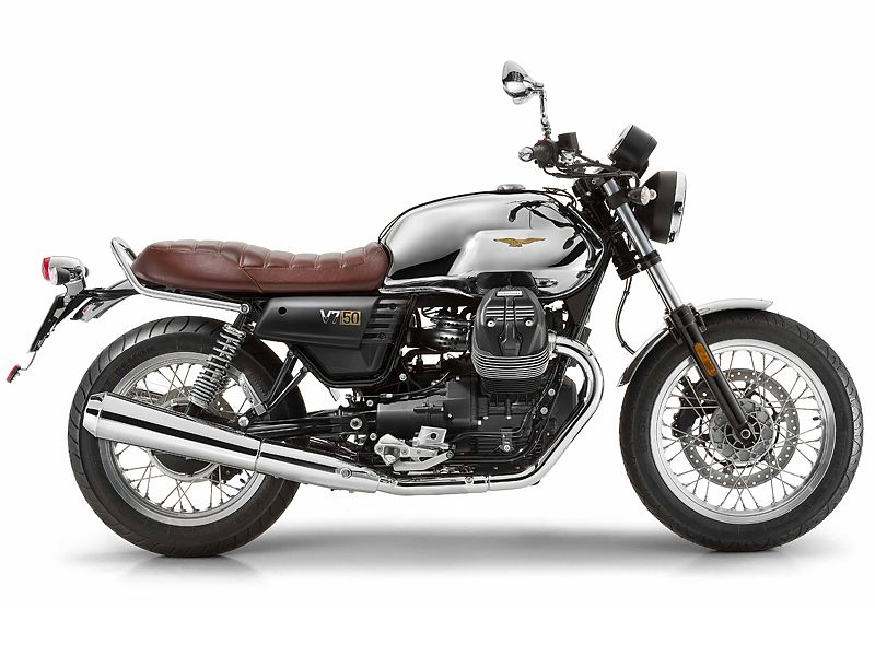 Moto Guzzi V7 cumple 50 años