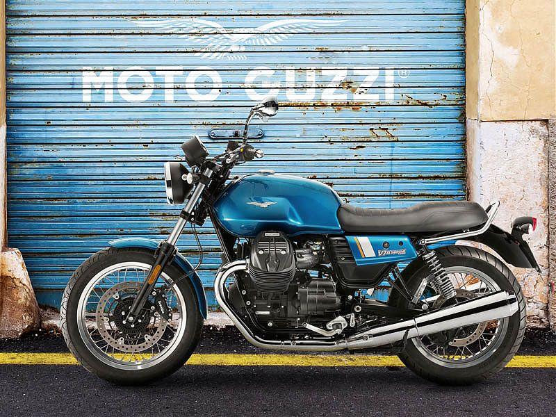 Moto Guzzi V7 celebra su 50 aniversario