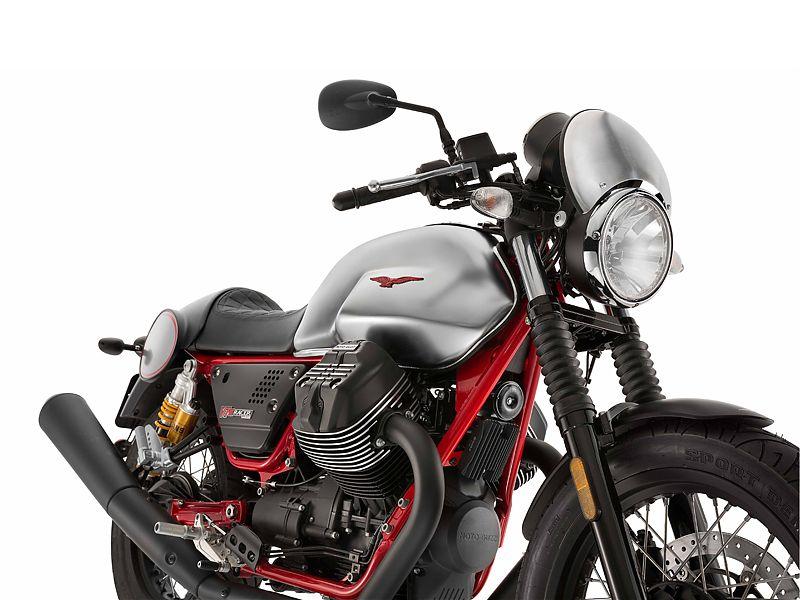 Detalles de la nueva Moto Guzzi V7 III Racer