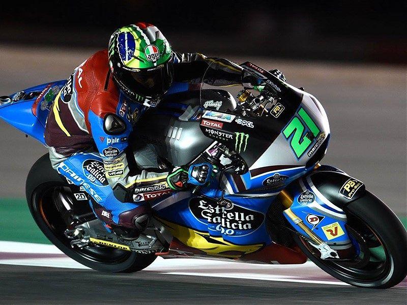 Franco Morbidelli, el más rápido hoy en Moto2