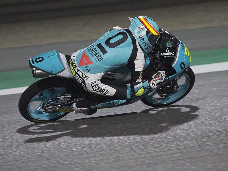 Joan Mir se hace con la victoria de Moto3 en Qatar