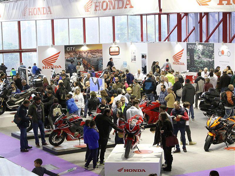 Stand Honda en MotoMadrid 2017