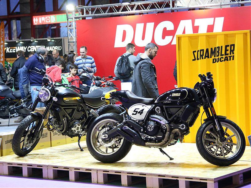 Stand Ducati en MotoMadrid 2017