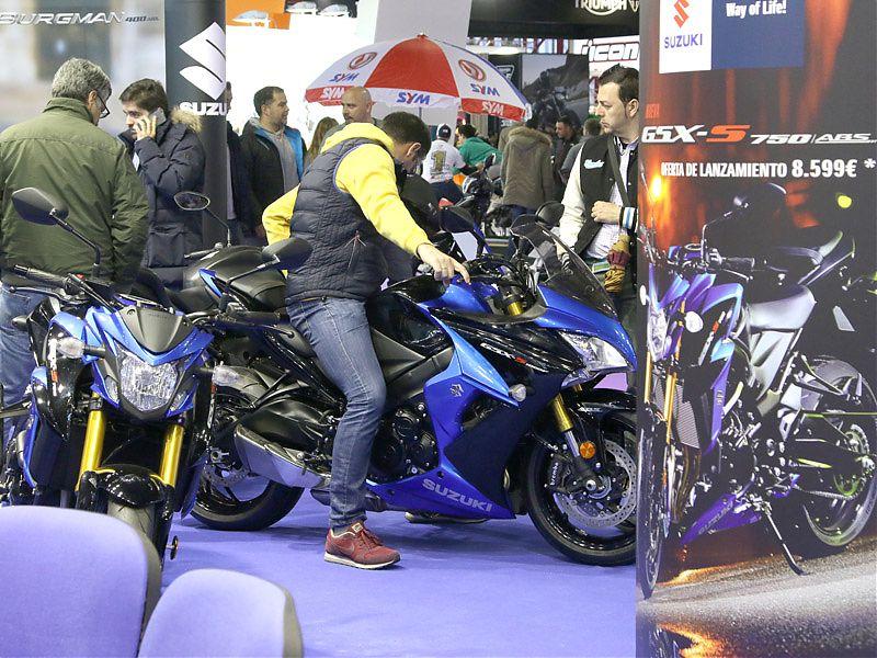 Stand Suzuki en MotoMadrid 2017