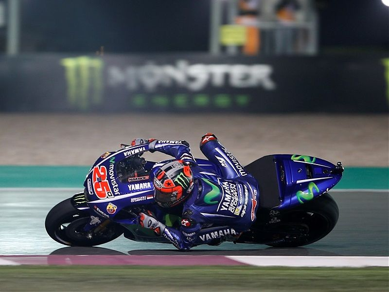 Maverick Viñales gana la carrera de Qatar