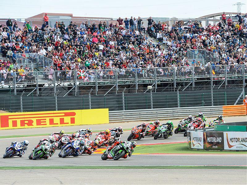 El Mundial de Superbike aterriza en el Circuito de MotorLand