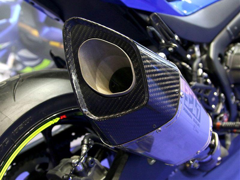 Silenciador Yoshimura Racing para Suzuki GSX-R