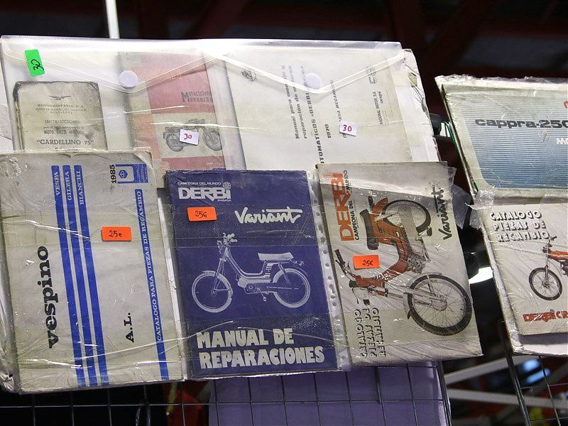 Catálogos antiguos en MotoMadrid 2017
