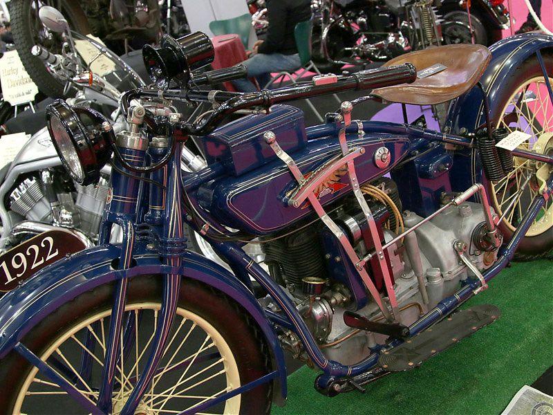 Harley-Davidson de 1922 en MotoMadrid 2017