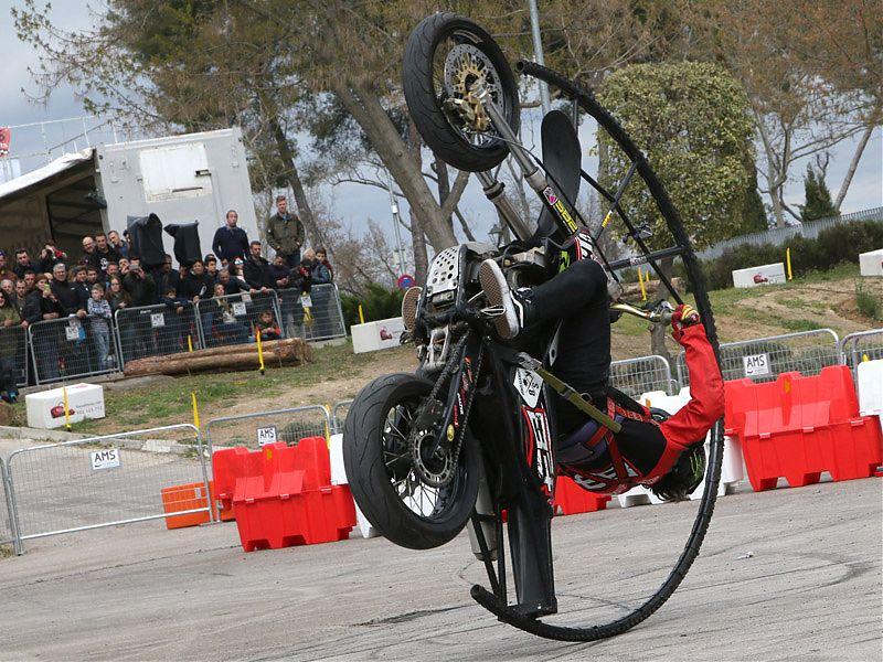 Stunt en MotoMadrid 2017