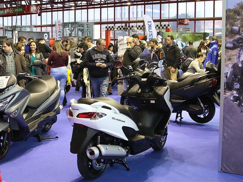 Scooters Suzuki en MotoMadrid 2017