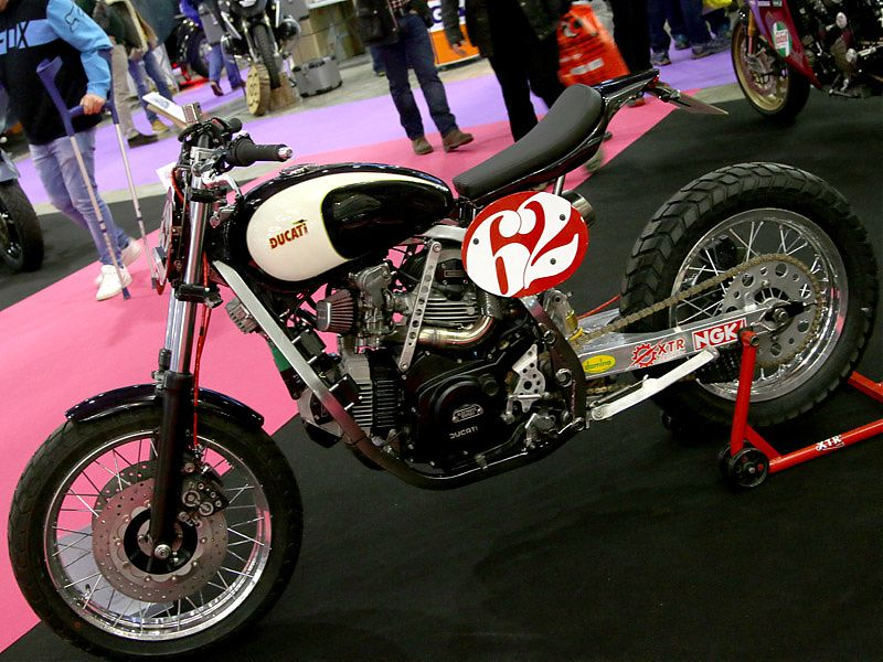 Preparación Ducati con motor Cagiva Elefant by XTR Pepo