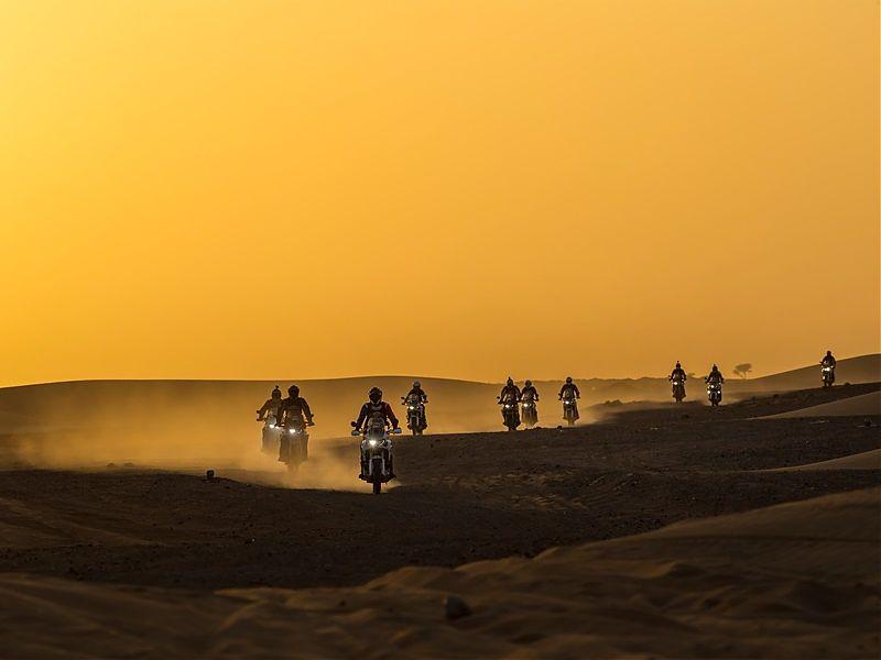 I Edición del Africa Twin Morocco Epic Tour