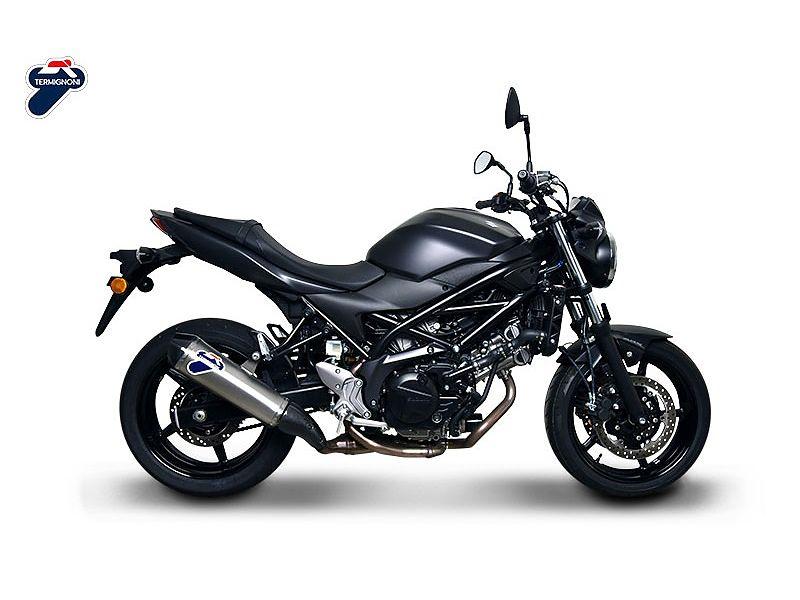 Nuevo escape Termignoni para la Suzuki SV650