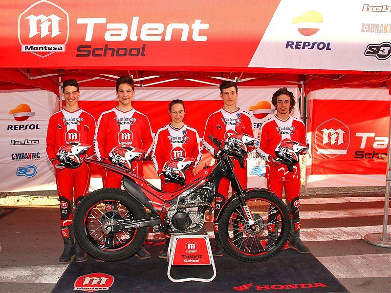 Pilotos Montesa Talent School.
