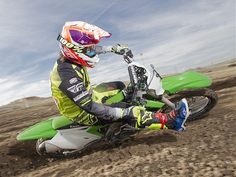 Kawasaki KX250F 2017.