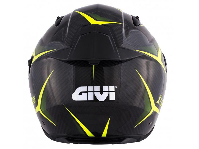Parte trasera del nuevo casco 40.5 X-Carbon de GIVI