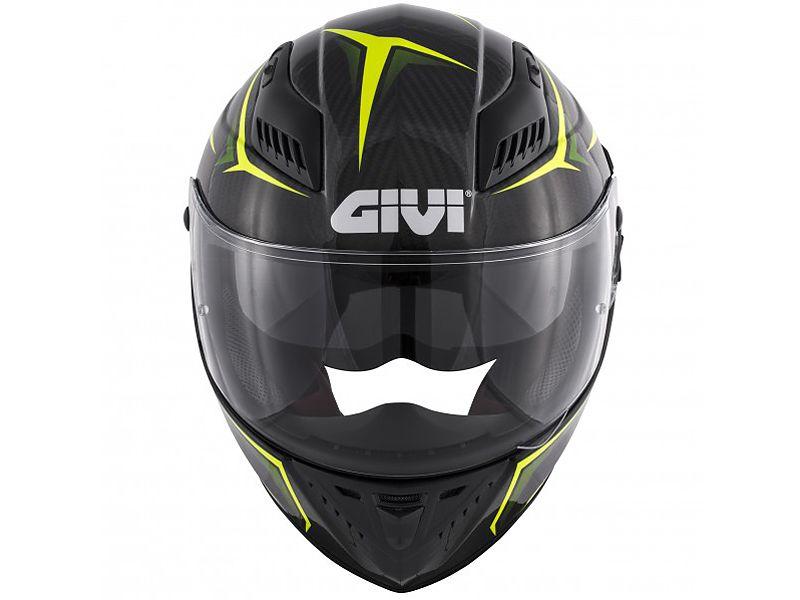 Frontal del nuevo casco 40.5 X-Carbon de GIVI