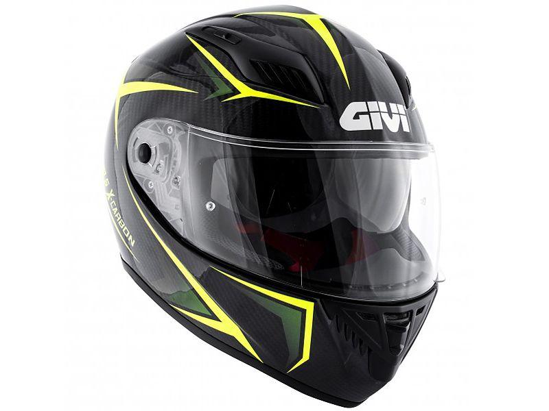 Lateral del nuevo casco 40.5 X-Carbon de GIVI